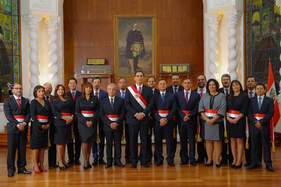 Vizcarra y Gabinete